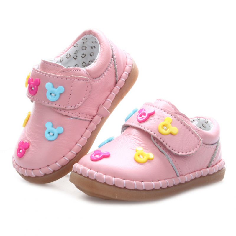 2016 Spring Autumn baby Brand quality genuine leather