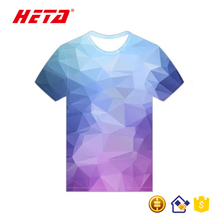 2017 New Fashion Quick Dry unisex breathable graphic wholesale printed t-shirts