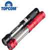 LED Magnetic Work Light Red Laser Pointer LED Light With Magnetized Finder Base