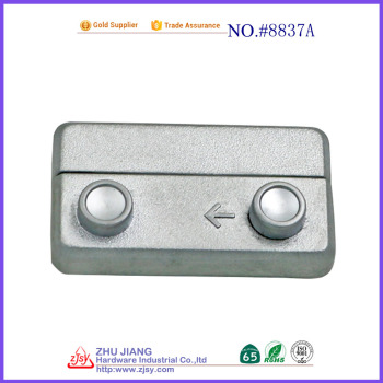 small metal box key lock/jewelry box