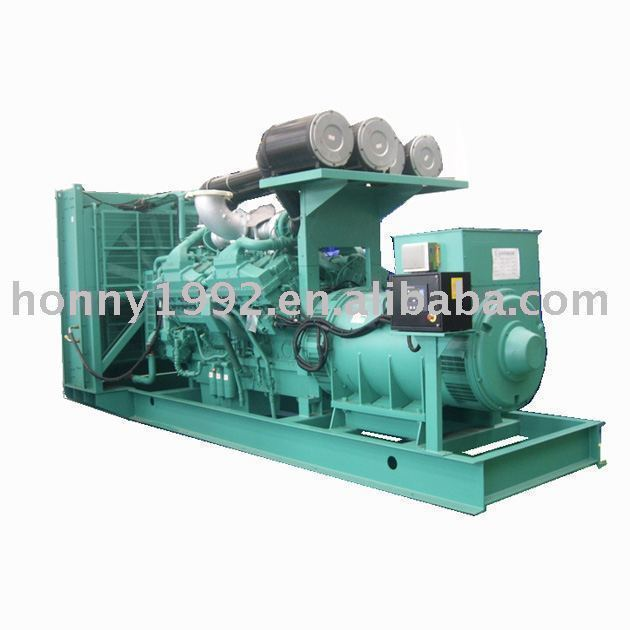 Engine Imported Diesel Generators 1000kW 1200kW 1600kW with ATS