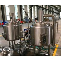 300L 500L 1000L Bar Pub Used Micro Beer Brewing Equipment for Sale