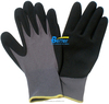 15G Nylon Liner Sandy-Finished Nitrile Coated Work Glove Safety