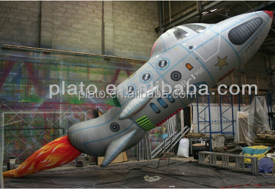 High quality inflatable rocket.inflatable space ship,rocket balloon