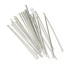 30 Sterling Silver Head Pins 20 Gauge 3 Inch