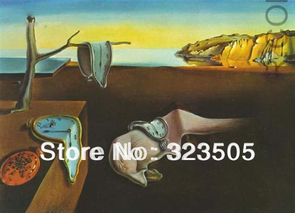 Surréalisme moderne Salvador dali célèbre oeuvre peinture