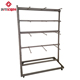 BYT The latest design Customized adjustable baby clothes lingerie display racks stand with wheel