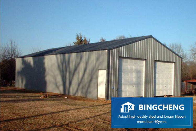 Custom prefab steel structure light steel house for carport residential and shop