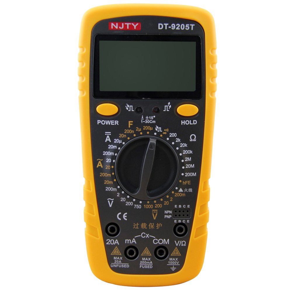 Cheap Transistor Tester Multimeter Find Buy Circuit Testerelectrical Testerac Dc Voltage Get Quotations Kiamitor Pocket Digital Dt 9205t 2000 Counts Auto Ranging Multimeters Multi