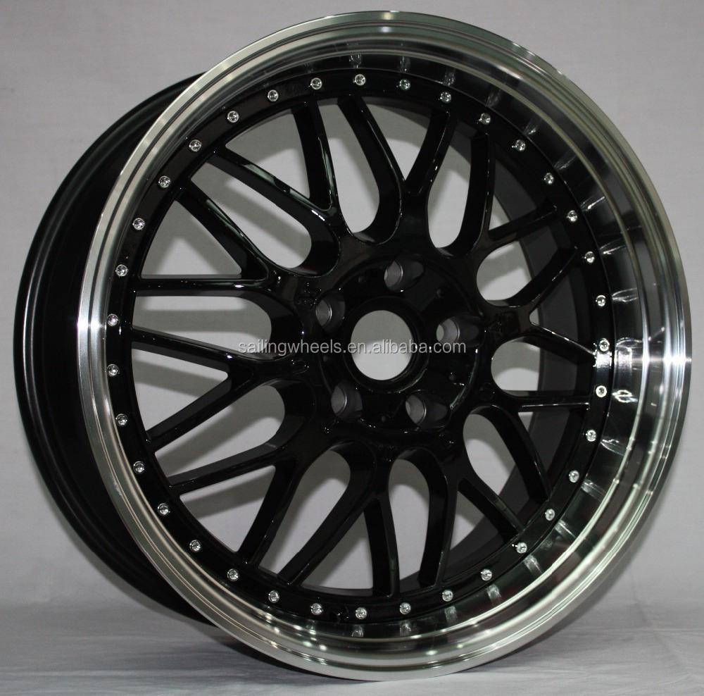 Wholesale pcd 112-120mm deep lip car alloy wheel rims with 18/19 ...