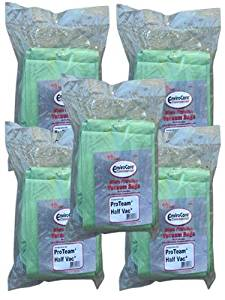 50 Commercial Proteam 106960, 106973 (Closed Collar) Super Half Vac HEPA Model Back pack Tank Vacuum Allergy Bag