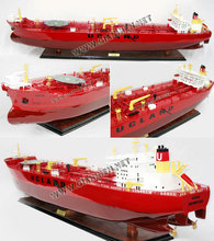 EVITA OIL TANKER MODEL - WOODEN OIL TANKER SHIP