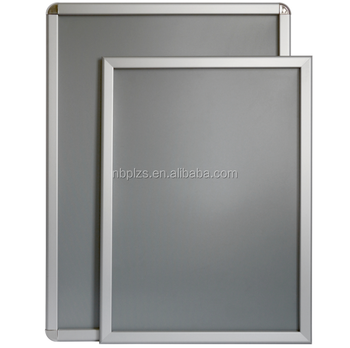 Advertising Poster Frames Picture Frame Flip Open And Snap Closed