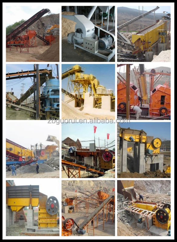 hammer crusher has a simple structure This series of machine broke materials through the high-speed rotating hammer  body and collision the material surface, it has a simple structure, large crushing.