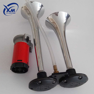 Widely Used Superior Quality 12v 150db Dual 2 Trumpet Use On Train Truck Bus Air Horn