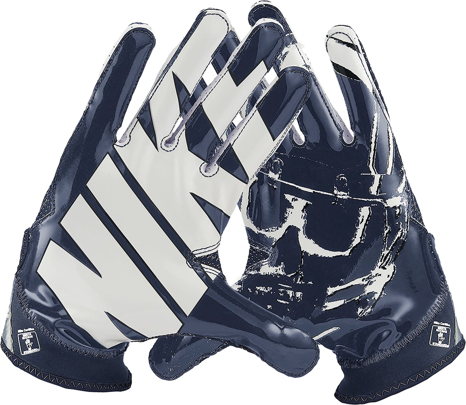 Nike Superbad 4.0 Football Gloves Black//Wolf Grey//Metallic Silver Youth Large