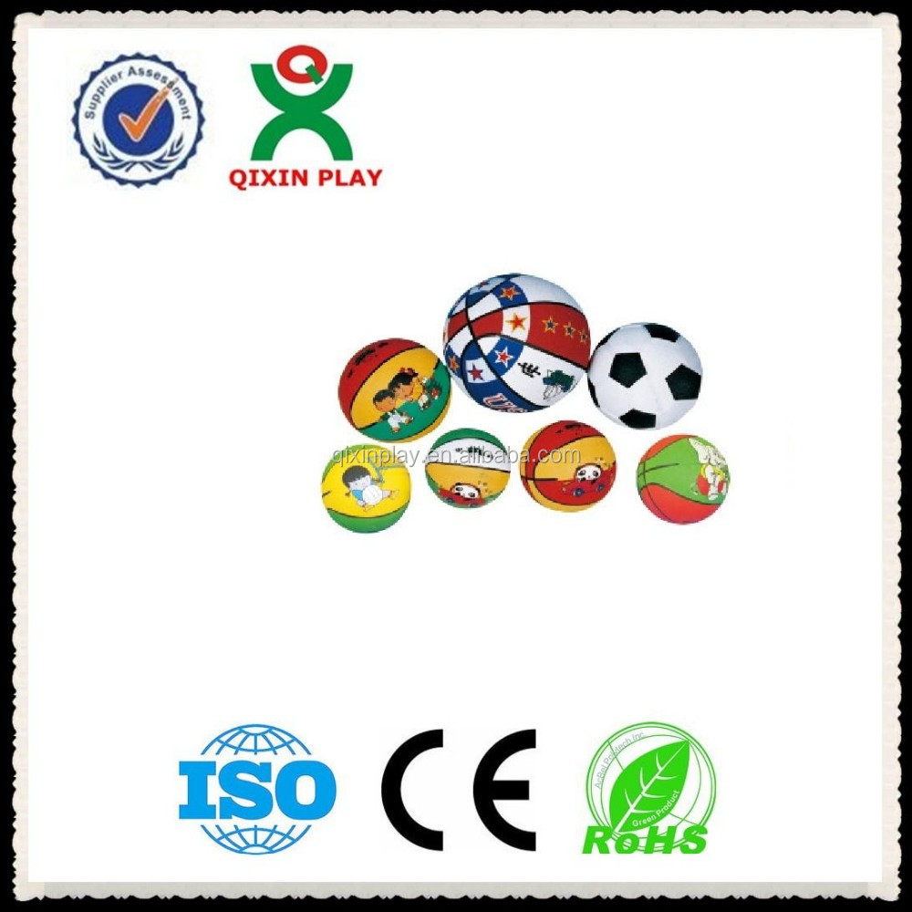Colorful balls basketball,world cup football 2014,soccer ball customized for kids game(QX-168G)