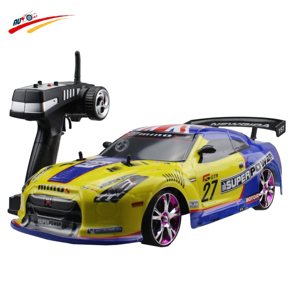 Large RC Car 1:10 High Speed Racing Car For Nissan GTR
