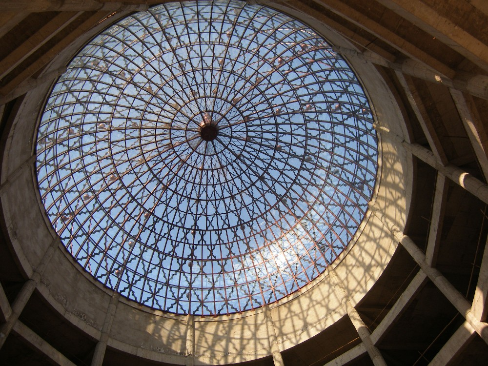Fiberglass Reinforced Roof Curved Panel Metal Mosque Domes