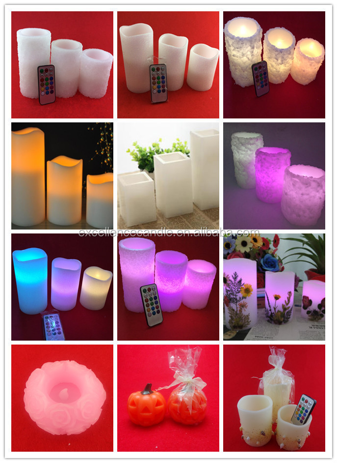 pliiar led candles battery controlled made in China
