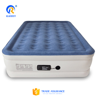 Manufacturer supplier inflatable ripple air mattress,bedroom furniture inflatable air bed