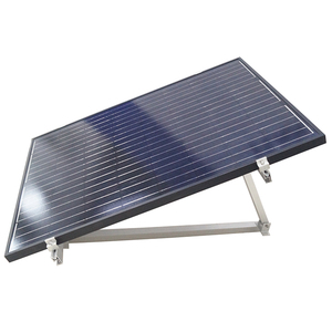 Home Solar Power System Flat Roof Mounting Support System