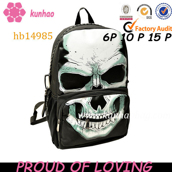 online product school skull bag