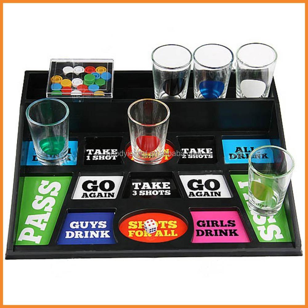 Hot Sold Chips Shooting Drinking Game Set Gydi05010
