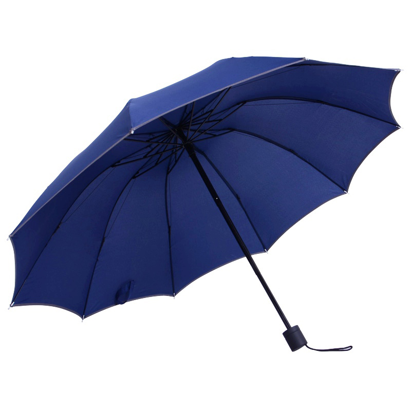 Storm Proof Unbreakable Travel Umbrella Compact Windproof 10 Ribs Cheap Promotional Folding Umbrella