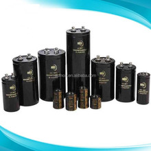 High voltage aluminium electrolytic capacitor