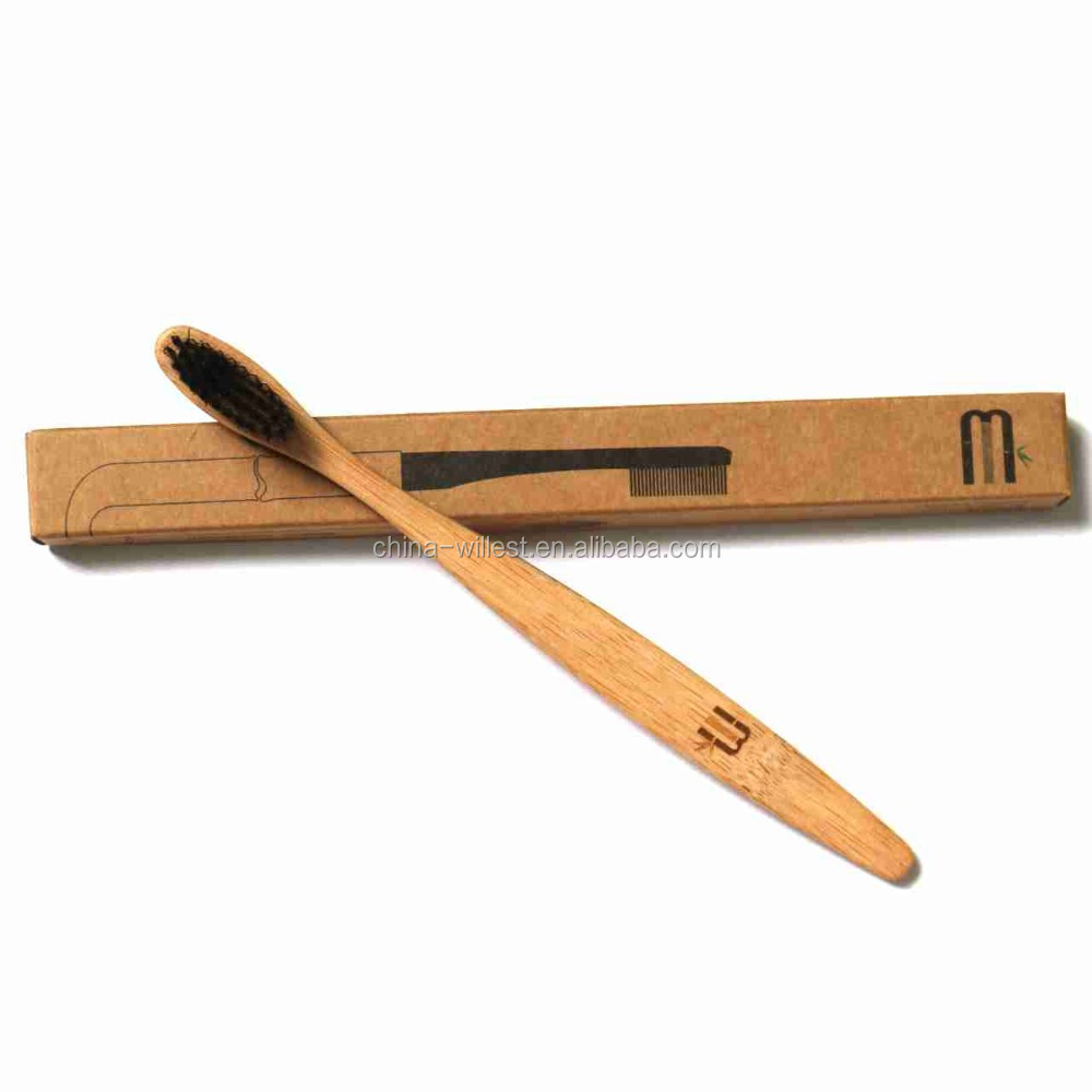 Private label bamboo/wooden toothbrush