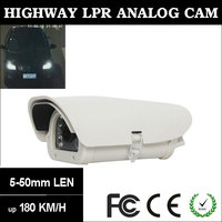 "Analog Sony 1/3"" 960H CCD for Highway/Motor-way High Speed Vehicles Professional License Plate Recognition (LPR) Camera"