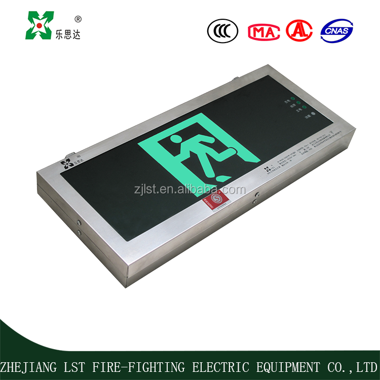 subway emergency exit /escape sign with high quality