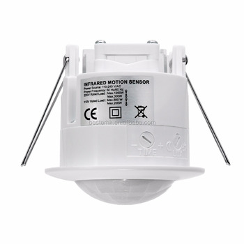 Automatic Switch Ceiling Mounting Infrared Motion sensor plastic cover