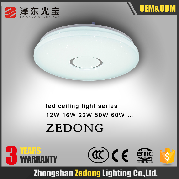 3 Years Warranty!Round surface mounted LED Ceiling Light 12W 16W 22W 50W 60W