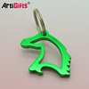 Various shape metal key chain bottle opener