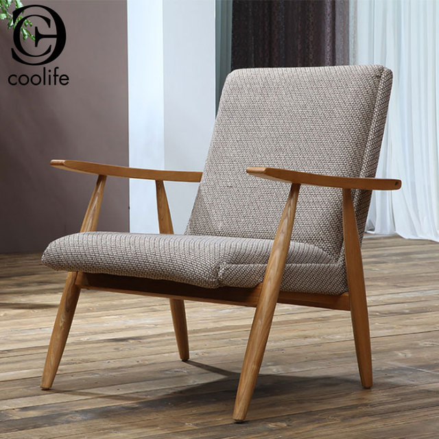 Home Decor Wooden Single Seater Lounge