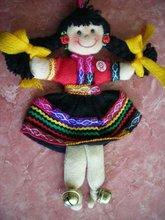 ANDEAN DOLL - 12 CM