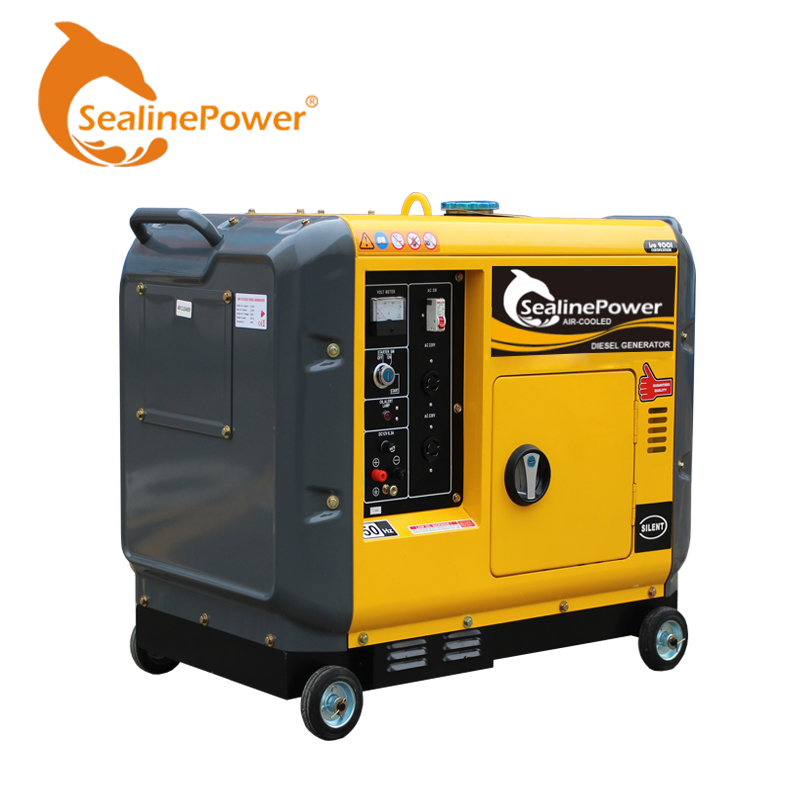 China Suppliers Hot Sale 5 kw Slient <strong>Diesel</strong> Generator With Price
