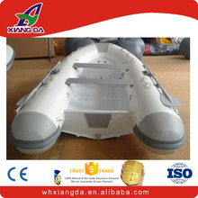 inflatable yacht tender with aluminum hull rigid tender boat