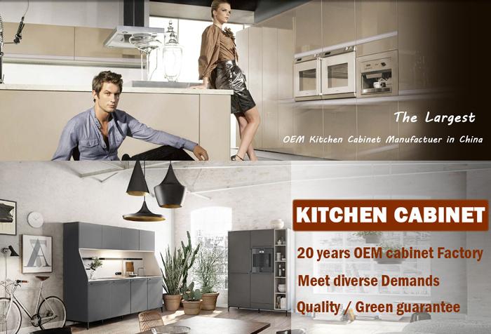 White Mdf Kitchen Cabinet/modern Flat Pack Kitchen,Kitchen Cabinet ...