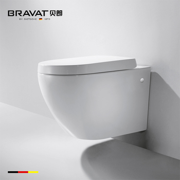One Piece Casting Technology Bathroom Wall Mounted Toilet Bowl C2190uw Hung Urinal