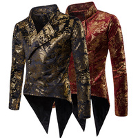 Men's Luxury Casual Dress Floral Suit Slim Fit Stylish Men Blazer Floral Jacket Costume Tuxedo