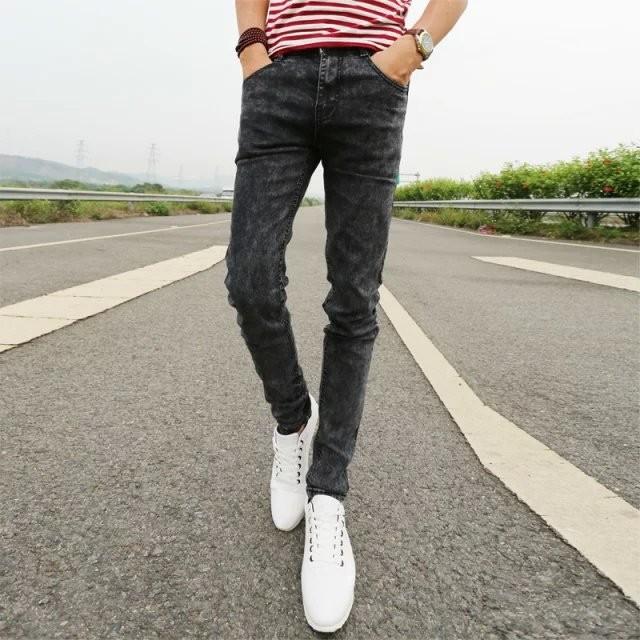 76d082133f Elegante pantalones nuevos diseños pantalones precio barato vaqueros  ajustados para los hombres