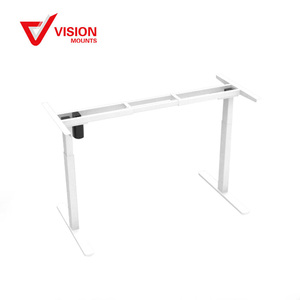 VM-HED101 High quality adjustable height sit stand desk with independent motor electric