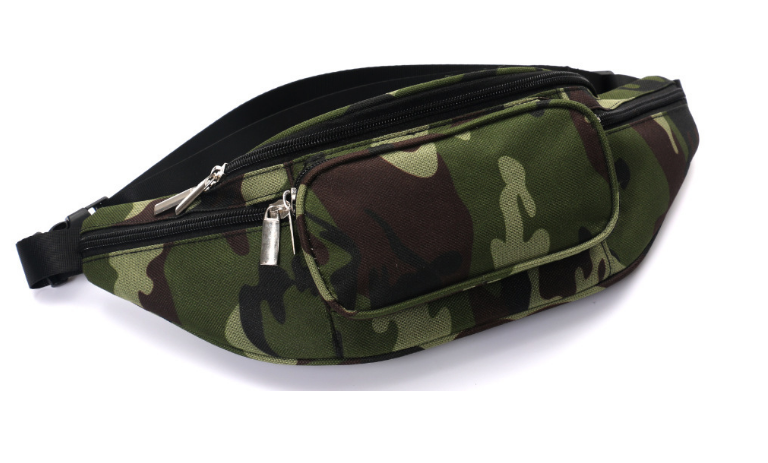 Multifunctional belt bag running sports pouch men fanny pack camouflage tactical waist bag