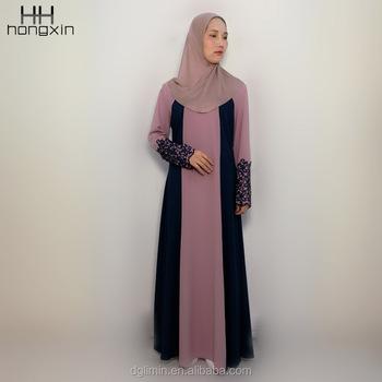 7d24e71ae2 China manufacturer Jubah Muslimah Islamic dress plain abaya for Muslim women