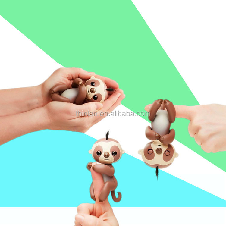 New item finger toys interactive baby finger Sloth Unicorn Squirrel toy monkey ling toy finger monkey