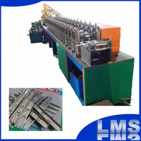 LMS ball bearing telescopic channel roll forming machine