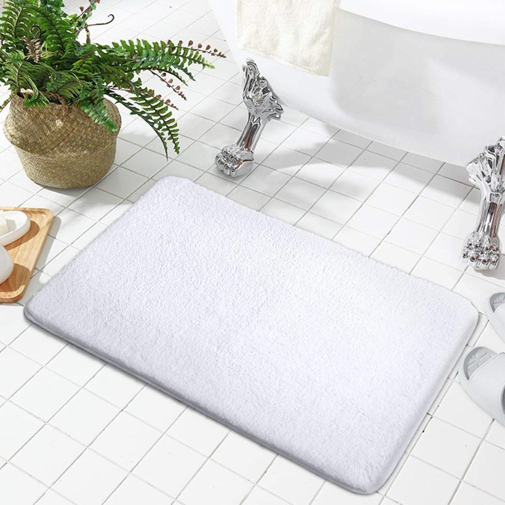 Microfiber Washable Absorbing Bath Mat Bathroom Rug - Buy ...